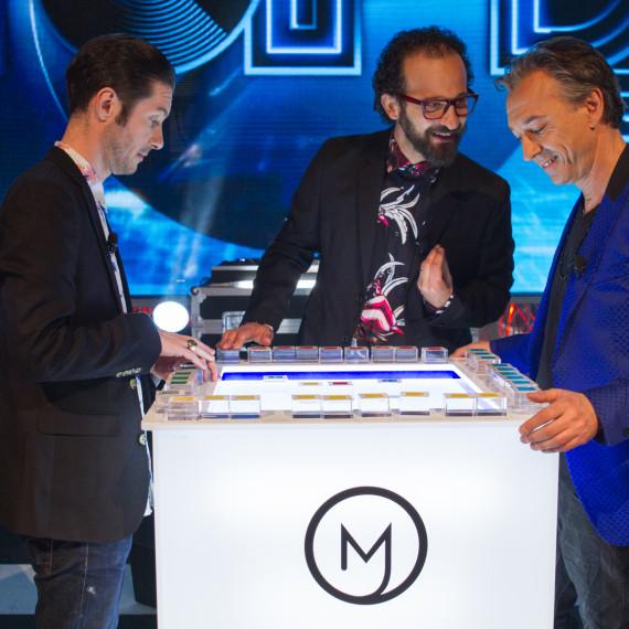 Mash Machine sul palco della finale di TOP DJ